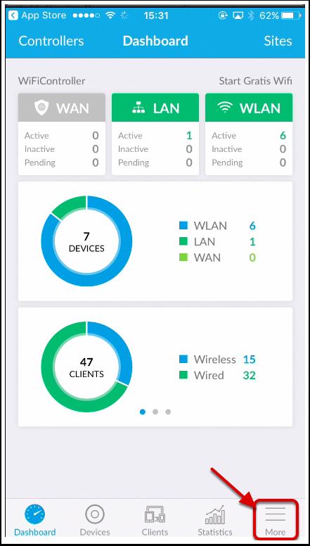 UniFi WiFi App - Instellen IOS - Company Knowledge